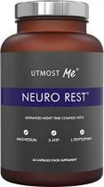 5-HTP + magnesio + melatonina natural para el sueño