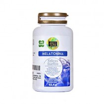 AquiSana, Melatonina, Valeriana y Tila , Antioxidante Natural, 120 Cápsulas