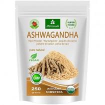 Ashwagandha en polvo 250g (Calidad superior, 100% natural) – Cereza de invierno