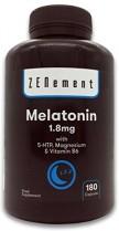 Melatonina 1,8 mg con 5-HTP, Magnesio y Vitamina B6