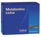 Melatonina Extra Masticable 60 comprimidos de Sakai