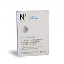 N+S MELATONINA 30 COMPRIMIDOS MASTICABLE