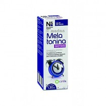 NS Nutritional System Melatonina Gotas, 30ml